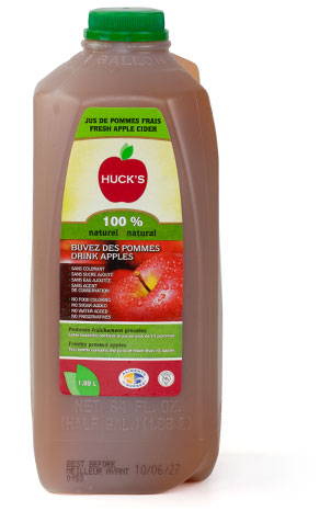 100% pure apple juice - 16 x 1,89 L