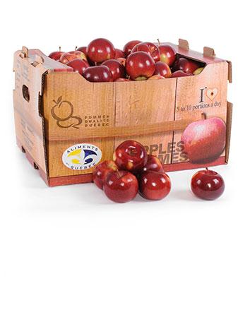 Pommes entières - Minot ( 35 lb )