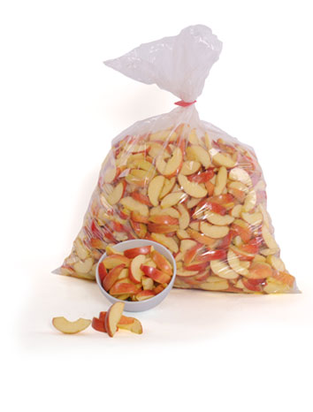 Red apple slices - 1 x 20 lbs