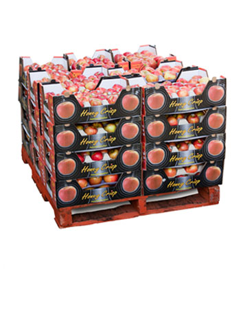 Whole apples: 2 layers display
