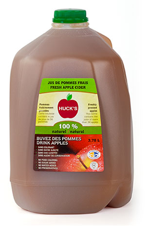 100% pure apple juice - 4 x 3,78 L