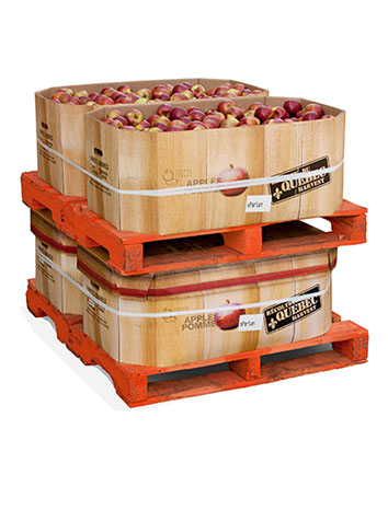 Pommes entières - 180 lb