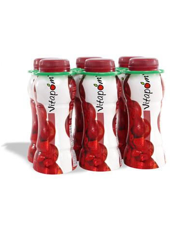 Jus de pommes, fraises et framboises 100% naturel - 200 ml