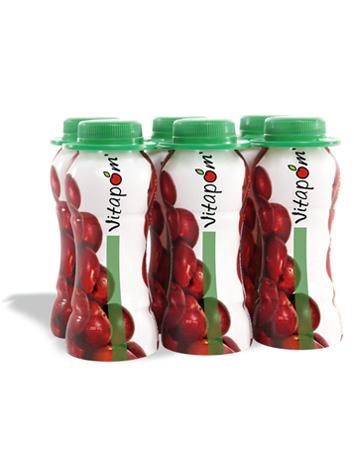 Jus de pommes 100 % naturel - 4 x 6 x 250 ml.